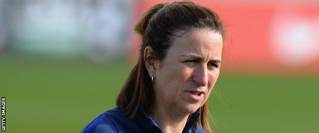 England Ladies assistant manager