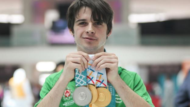 578c38da14c6 Special Olympics  Team Ireland success continues in Abu Dhabi - BBC Sport