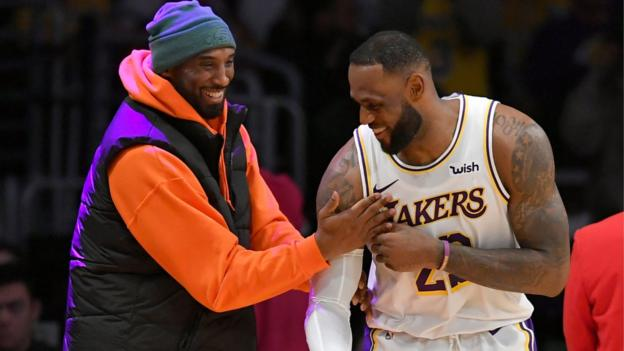 LeBron James promises to continue Kobe Bryant's legacy thumbnail