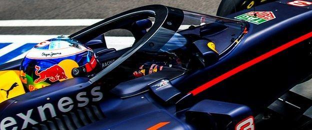 Red Bull's Aeroscreen