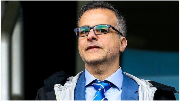 Bristol Rovers president Wael Al-Qadi