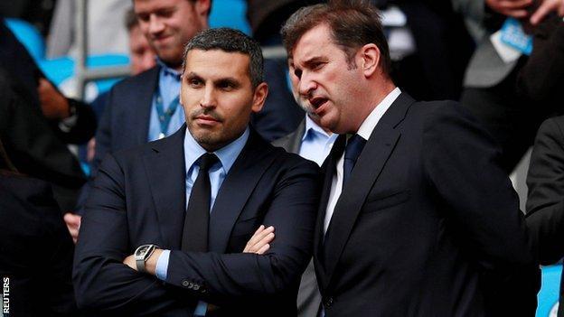 Manchester City CEO Ferran Soriano