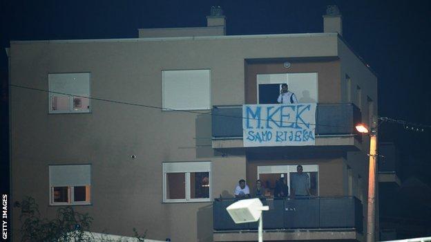 Fans in flats