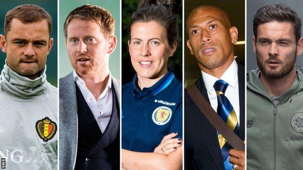 Shaun Maloney, Michael Stewart, Leanne Crichton, Chris Iwelumo and Craig Gordon are this week's Sportscene pundits