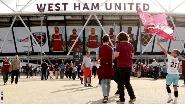 West Ham United's new ground