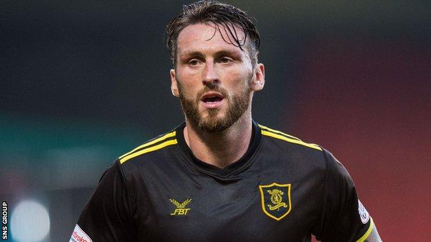 Lee Miller scored two goals for Livingston last season after joining the club in January