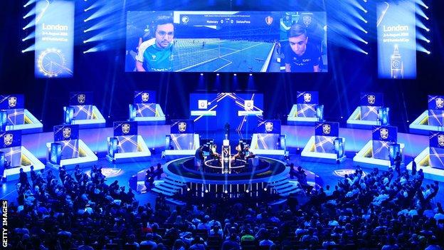 The final of the FIFA eWorld Cup in London
