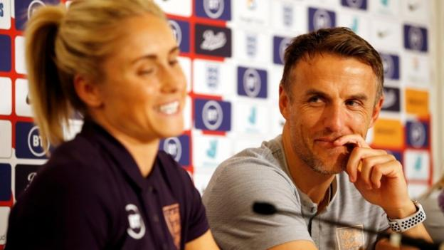 Phil Neville wants WSL clubs to fill regular stadiums first