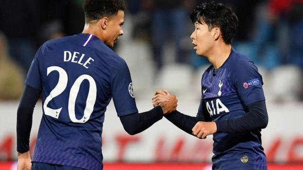 Son Heung-min: Tottenham forward 'really sorry' for Andre Gomes incident