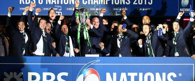 Ireland will aim to bring their Six Nations winning form into the World Cup