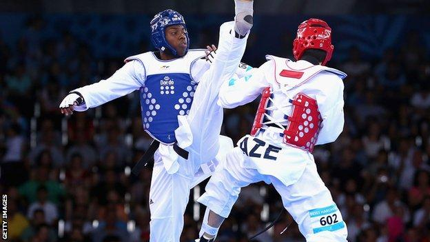 Great Britain fighter Lutalo Muhammad