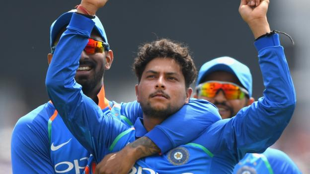 102505208 kuldeepgetty - England v India: Kuldeep, Rohit & Kohli lead vacationers to victory at Trent Bridge