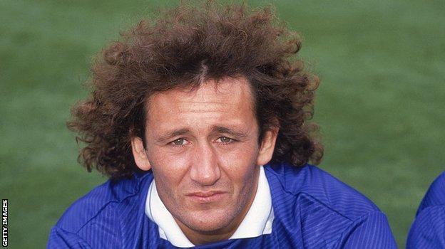 Former Millwall midfielder Terry Hurlock