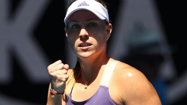 Australian Open: Angelique Kerber beats Camila Giorgi in three sets thumbnail