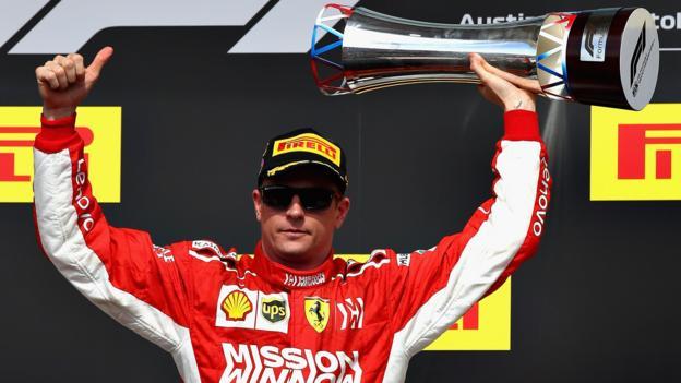 Lewis Hamilton must wait for fifth world title as Kimi Raikkonen wins in United States thumbnail