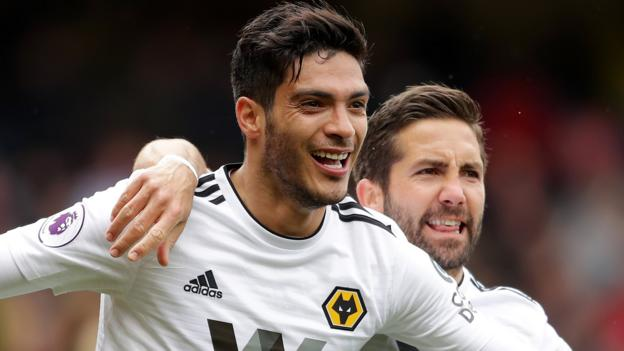 9841d2766a8 Watford 1-2 Wolves  Diogo Jota strike sends visitors seventh - BBC Sport