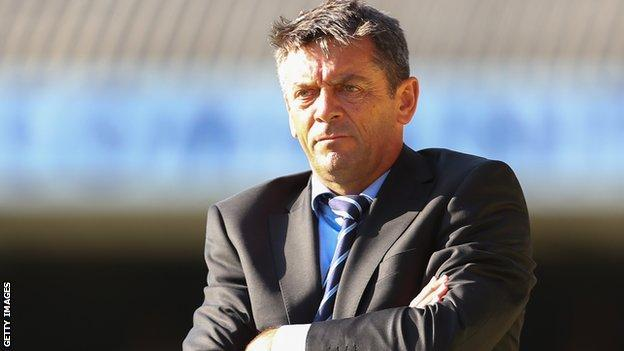 Phil Brown Southend United manager