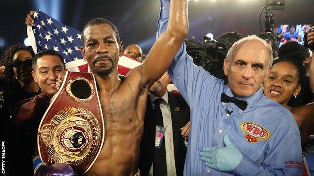 Jamel Herring is the WBO super-featherweight world champion