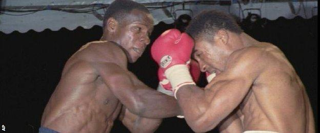 Chris Eubank Snr versus Michael Watson