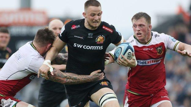 Exeter beat Northampton