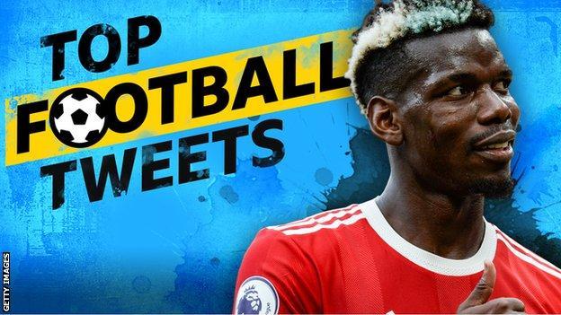 Top Football Tweets: Paul Pogba