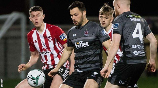 Dundalk have moved up to second in the Premier Division table