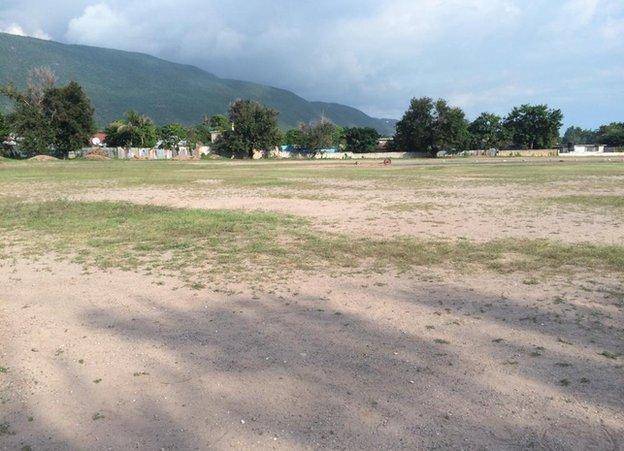 Lucas cricket club in Kingston, Jamaica