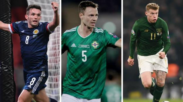 Euro 2020 play-offs: Scotland to discover opponents, Northern Ireland & Republic of Ireland know theirs