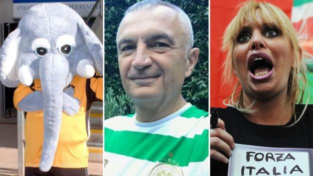 SPFL: Elephants, Albania's president & Mussolini's granddaughter thumbnail