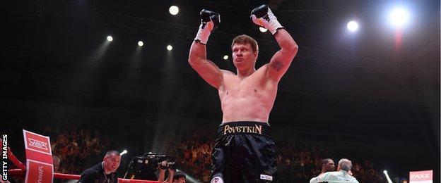 Heavyweight Alexander Povetkin