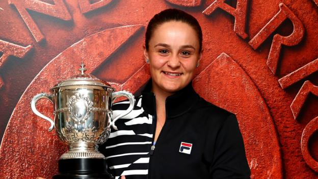 Return to tennis my best decision - Barty reflects on French Open triumph