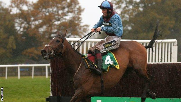 Ballyoptic wins at Wetherby