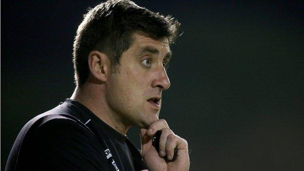 Candystripes boss Declan Devine hopes to make it two wins from two games in the Premier Division