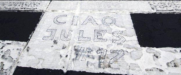 Ciao Jules message