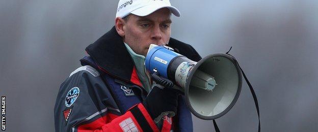 Water sports coach