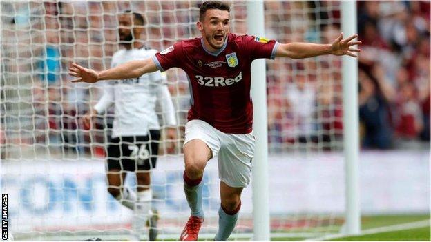 Aston Villa beat Derby County in the Championship play-off final to become the third team to win promotion to the Premier League in 2018-19