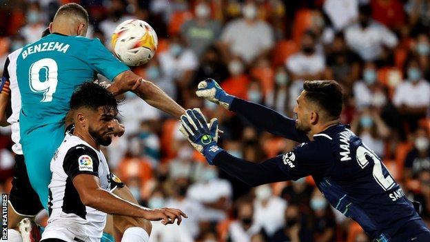 Valencia 1 - 2 Real Madrid