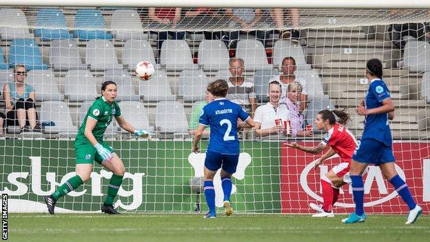 Chelsea's Ramona Bachmann headed Switzerland's winner