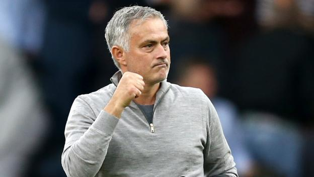 Jose Mourinho comes up smiling as Manchester United beat Burnley thumbnail