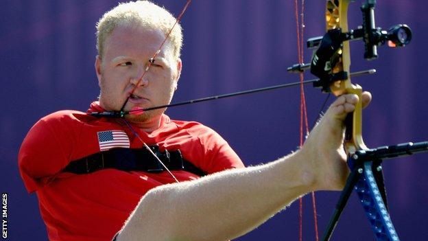American archer Matt Stutzman
