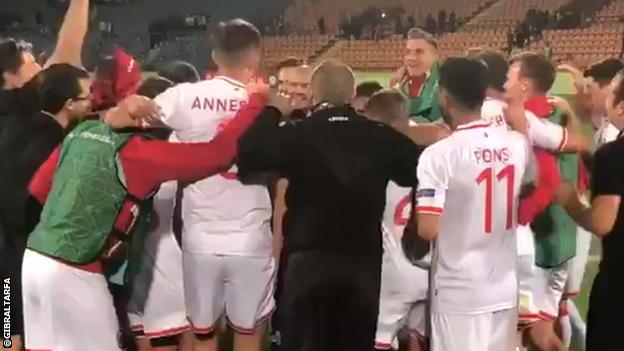 Gibraltar celebrate