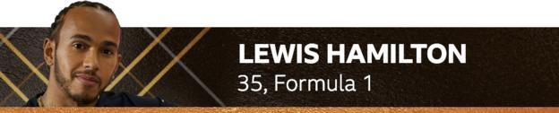 Lewis Hamilton, 35, Formula 1