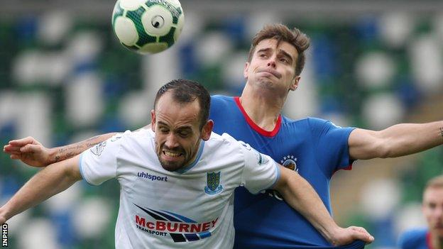 Ballymena and Linfield will meet at Warden Street on 27 November
