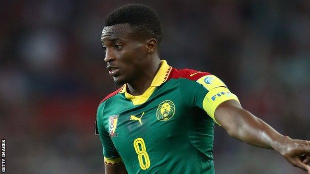 Cameroon captain Moukandjo joins Chinese side Beijing Renhe on loan