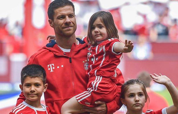 Bayern Munich captain Philipp Lahm and midfielder Xabi Alonso