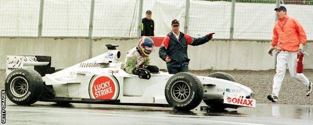 Jacques Villeneuve and BAR