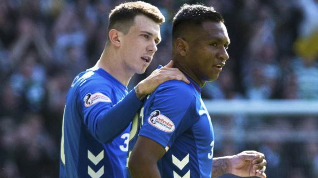 Rangers: Alfredo Morelos apologises for his sending-off at ...