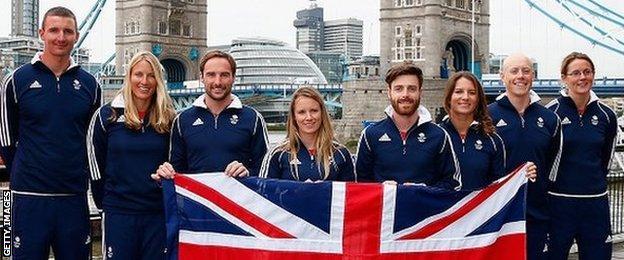 British sailing team for Rio 2016 Olympics