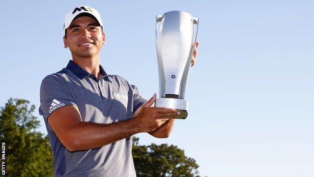 New world number one Jason Day after winning the BMW Championship in Chicago