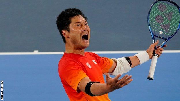 Wheelchair tennis player Shingo Kunieda